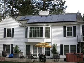 Synergy solar panel installation