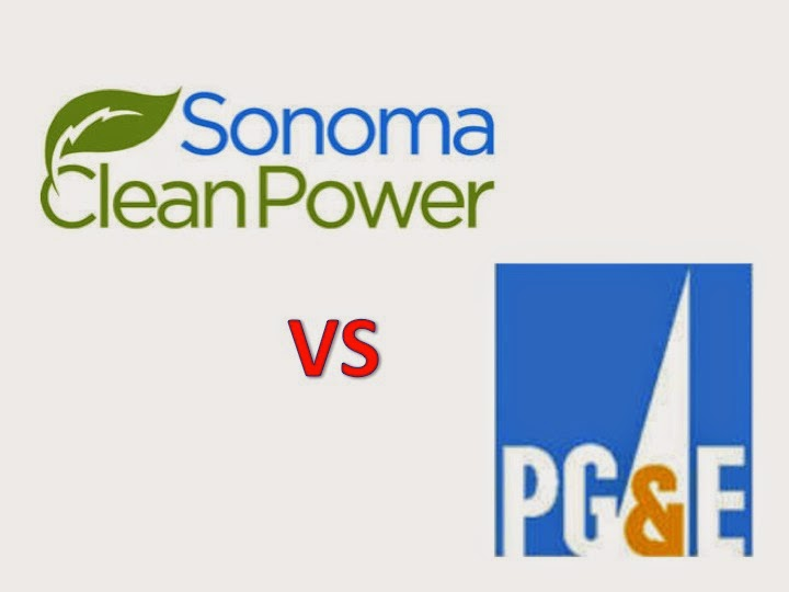 Sonoma Clean Power or PG&E for the residential customer