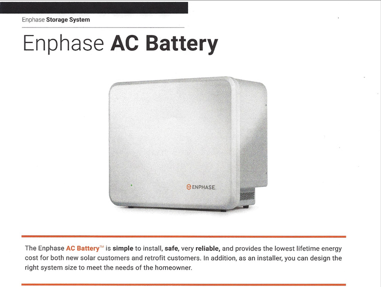 Enphase Solar Ac Batteries A New Era For Energy