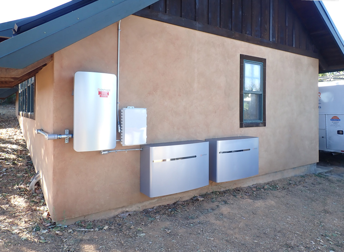 Enphase Solar Battery Storage System